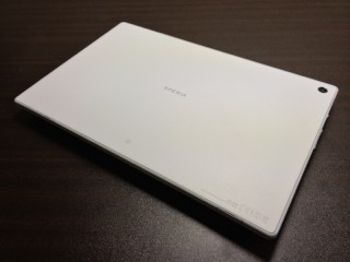 Xperia Tablet Z SO-03E 背面